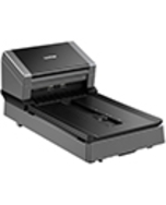 Brother PDS-5000F Color Duplex Document Scanner with Flatbed for High Scan Volume Environments
